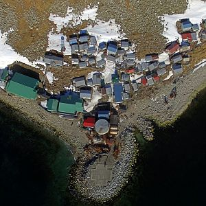 Little Diomede from above