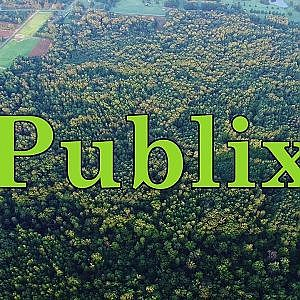 Aerial Views of Future Publix Distribution Center Site - McLeansville, NC