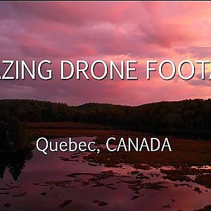 Breathtaking Drone Footage Laurentians Quebec CANADA - YouTube