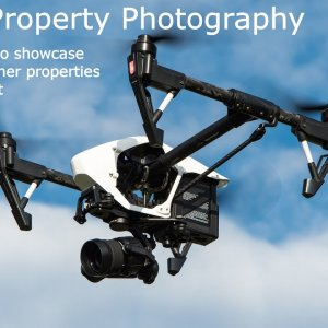 Aerial Property Photography - Using Drones & UAV For Architectural Photography & Real Estate