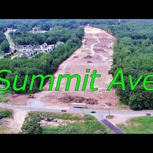 Aerial Views of I-785 to Lees Chapel Rd. Along the I-840 Urban Loop Construction - Greensboro, NC