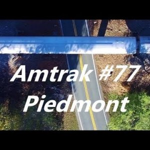 Amtrak #77 Piedmont - Durham to Burlington, NC