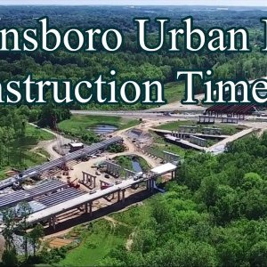 Construction Timeline of the Northwest Section of I-840 Urban Loop - Greensboro, NC