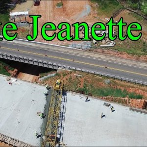 Latest Aerial Views of N. Elm St. to Lawndale Dr. Along the I-840 Urban Loop - Greensboro, NC