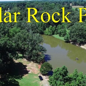 Aerial View of Cedar Rock Park - Alamance County, NC